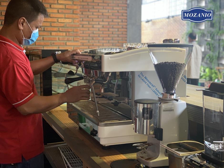 Lắp đặt máy pha cafe miễn phí tận nơi